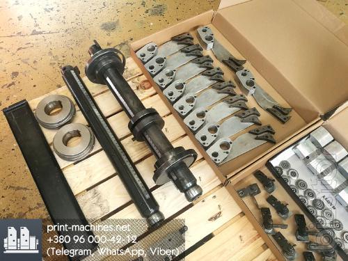 Original spare parts for the Heidelberg printing machines