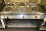 Hob 6 burners b/Hendi CE1276P without an oven