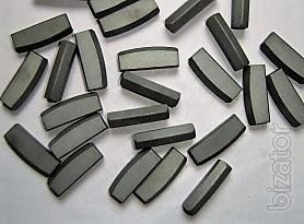Carbide plates for splitting machines