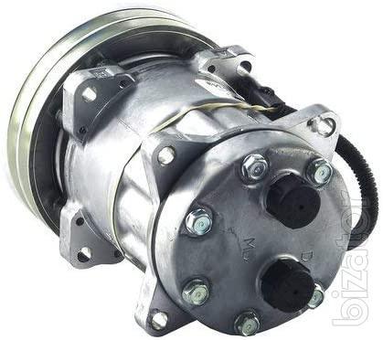 Компрессор кондиционера Case, New Holland, Massey Ferguson 152mm, A2 (1999755C2,1990760C1 ,86983967, 86993462)
