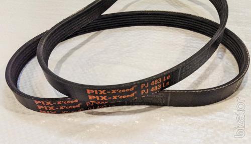 Belt for lawn mowers Intertool DT-22