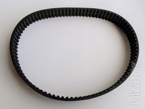 Drive belt aerator