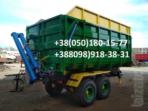 The trailer to the tractor MTZ, YUMZ, tractor truck grain truck .