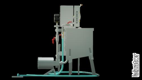 The milk pasteurizer flow 100 l UZM-0,1
