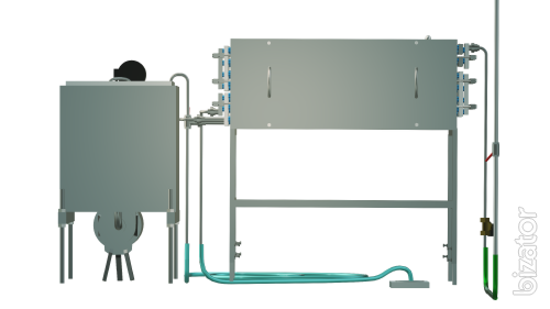 The milk pasteurizer capacitive 100 l UZM-0.1 E