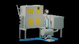The milk pasteurizer flow 200 l UZM-0,2