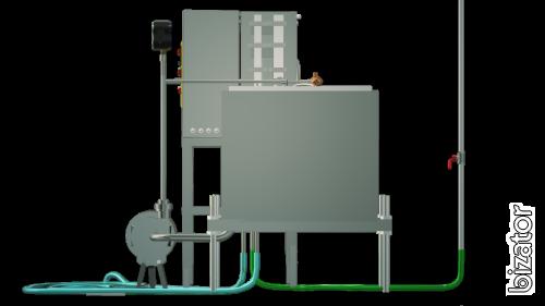 The milk pasteurizer capacitive 200 l UZM-0.2 E