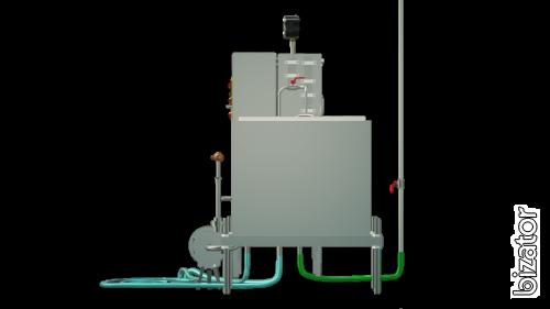 The milk pasteurizer capacitive 300 l, UZM-0.3 E