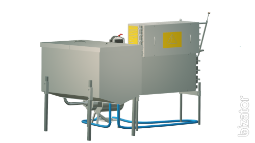 The milk pasteurizer flow 500 l UZM-0,5
