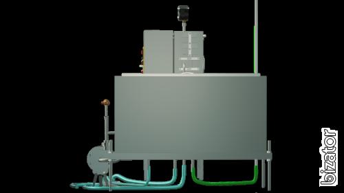 A capacitive milk pasteurizer 500 l UZM-0.5 E