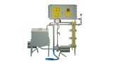 Pasteurizer milk flowing to cheese production and cream 1 t/h UZM-1.0 P