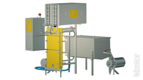 Pasteurizer wine and juice by hot filling 1 t/h UZM-1.0 G