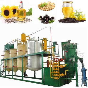 Оборудование для производства, рафинации и экстракции растительного масла, подсолнечного масла, рапсового, соевого и хлопкового масла