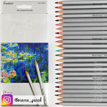 Colored pencils Marco raffine offers relaxing 24 colors (7100-24CB)
