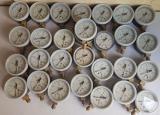 Pressure gauges DM-1001, MP-3U, MTP-100, MTP-SD, MTP-1m