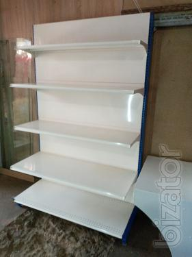 Trade in used, wall shelving used