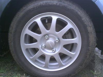 Продам колеса: ВСМПО Солярис + HANKOOK CENTUM (б/у)