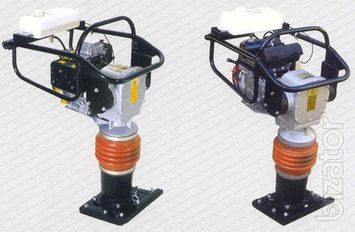 Вибротрамбовка с электродвигателем