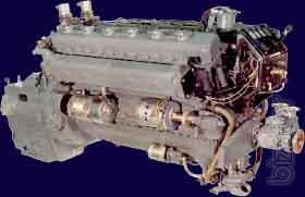 Судовые двигателя, а также запчасти