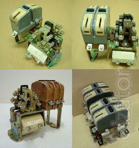 Контакторы МК3-10, МК3-21, контактор МК3-20, контакторы МК4-20, МК3-01, контактор МК3-11