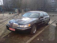 Обслуживание свадеб и торжеств Lincoln Town Car в Днепропетровске