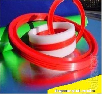 уплотнения (манжеты,грязесъемники)из полиуретана(стандартные и нестандартные),покрытие роликов и валов полиуретаном