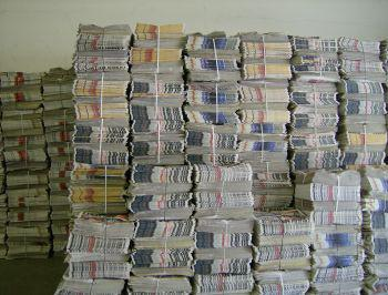 Looking for Over Issued News Papers # 9 in Bundles for long Terms