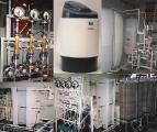 Электродиализное оборудование: промышленные и лабораторные установки и аппараты.