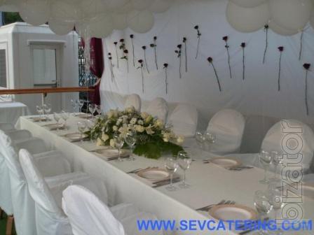 Эксклюзивная свадьба в Крыму! ALL-Catering центр в Крыму