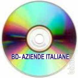 We sell Databank of Italian Companies