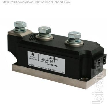 Тиристоры, диоды силовые в модульном исполнении