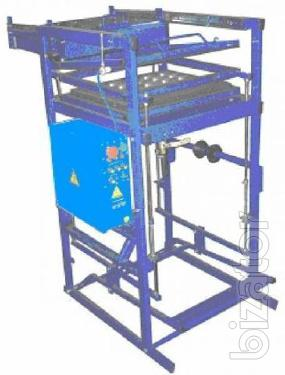 Вакуумная упаковочно-формовочная установка  для изготовления блистерной упаковки, коррексов