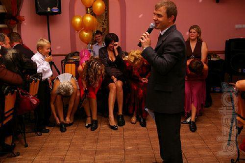 Ведущий, живая музыка на свадьбу, корпоратив, юбилей Киев!