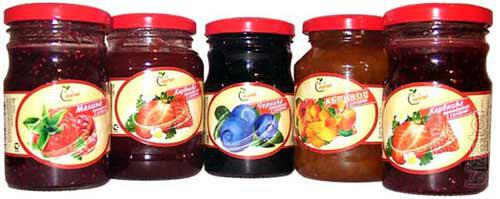 Sales Fruit sticks with a nut, fruit and berries wiped with sugar, desserts fruit, jam fruit and berries, jams fruit and berries