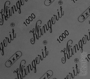 Уплотнительный асбестовый картон Klingerit