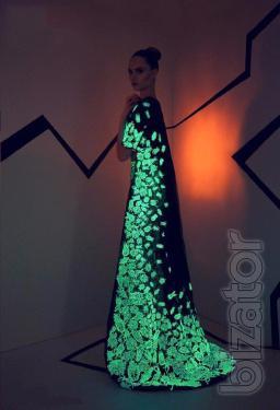 Светящаяся люминесцентная краска – автономное свечение!