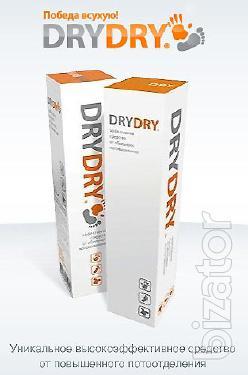 Средства от пота, гипергидроза - Dry Dry, Odaban, Maxim - Антиперспирант