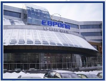 Сдаем в аренду торговые площади в новом БЦ ЕВРОПА