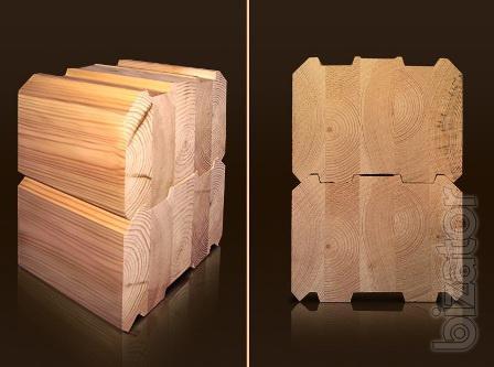 Glue laminated timber (profiled beams)
