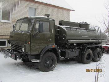КАМАЗ 4320 АВТОЦИСТЕРНА С военного хранения