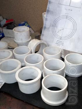 Замена бронзы на полимерные материалы Zedex для изготовления втулок, вкладышей, направляющих.