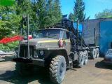 Лесовозы на базе Камаз 4310 и Урал 4320 внедорожники с манипулятором.