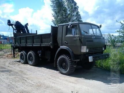 КАМАЗ 53212 для перевозки стройматериалов