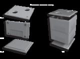 Плита теплокамеры, КС-1, КС-2, КС-4, КС-5, КС-9, КС-3, КС-6, КС-7, КП-2 (ПП 22.14.2), КП-3 (ПП 34.14.2), КП-4 (ПП 46.14.2), КП-5