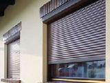 Protective shutters in Kharkiv