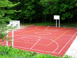 Basketball equipment for sites from the manufacturer.