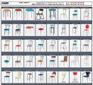 Барные стулья на металлокаркасах для барных стоек кафе, баров, ресторанов, дома, кухни Киев