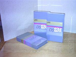 Sells new video JVC DIGITAL-S (D9) 124 min