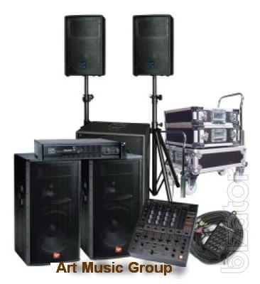 Rental of sound. Donetsk.(066) 647-57-41