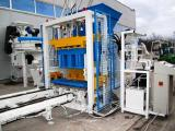 The equipment for manufacture of blocks, paving economy class